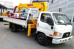 truck mounted crane HGC374