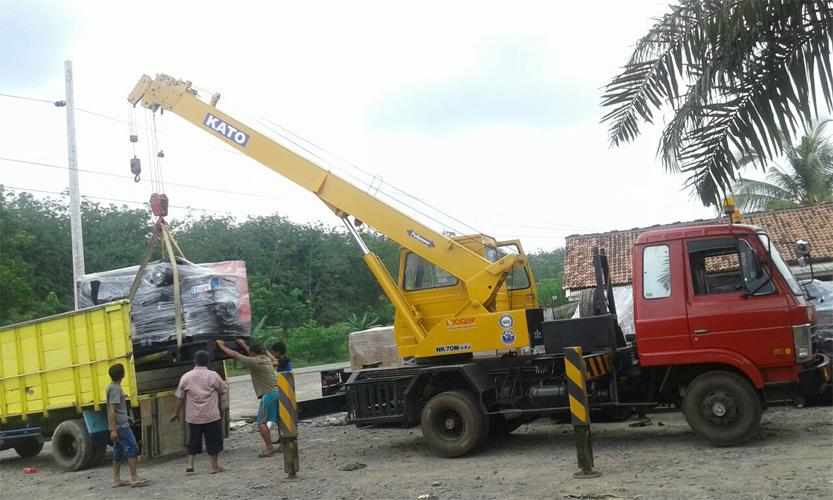 rental truck hidrolik