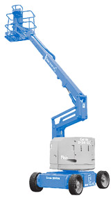 jual articulating boom lift
