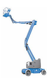 jual articulating booms lift