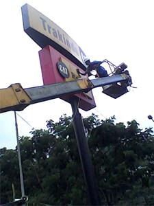 rental mobil crane 16 meter