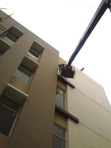 rental mobil crane 22 meter