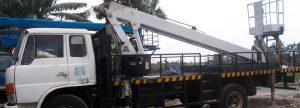 slider mobil crane 20 meter