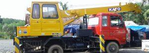 slider truk crane