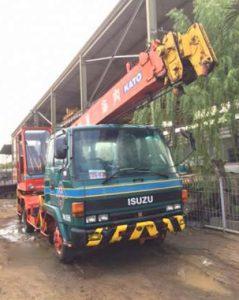 truk crane 21 meter