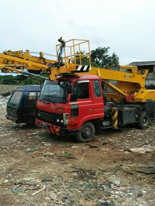 rental mobil crane 21 meter